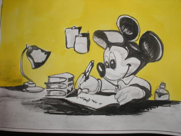 Mickey Mouse by Coffee58